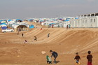 THW supports the United Nations in expanding and operating refugee camps in Iraq.