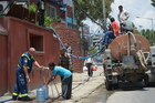 THW in Nepal restarted the treatment of drinking water.