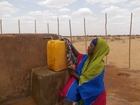 In Ethiopia, THW supports the UN Refugee Agency (UNHCR) in supplying the population with drinking water.   (show image)