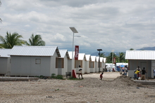 Das Camp St. Etienne in Port-au-Prince