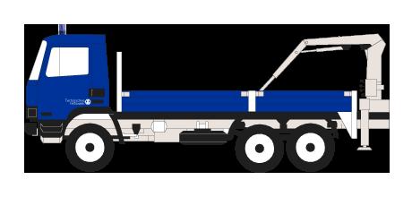 LKW Kipper, 7t, geländegängig (LKW 7 Lkr 19tm)
