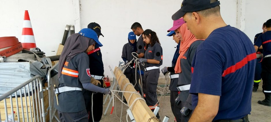 For two weeks the future volunteers practiced the basic skills and knowledge necessary to carry out missions.