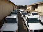 The Foreign Office equips the Senegalese Formed Police Unit (FPU) with new vehicles. (show image)